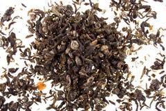 grön tea för bakgrund Royaltyfri Bild