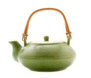 grön teapot Royaltyfria Bilder