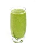 Grön teasmoothie arkivbilder