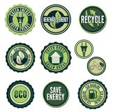 Grön teknologi Royaltyfri Bild