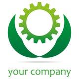 Grön teknologi utrustar stock illustrationer