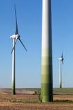 grön teknologiwindpower Royaltyfri Bild