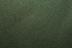 grön textiltextur Arkivbilder