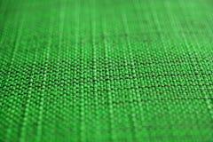 grön textur för tyg intresting mönstrar av texturerar Övre sikt för slut av grön tygtextur och bakgrund Arkivfoton