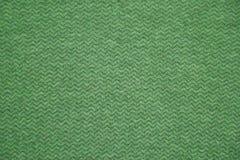 grön textur för tyg Grön torkdukebakgrund Övre sikt för slut av grön tygtextur och bakgrund Grön torkdukemodell Arkivbilder
