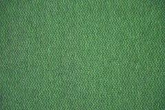 grön textur för tyg Grön torkdukebakgrund Övre sikt för slut av grön tygtextur och bakgrund Grön torkdukemodell Fotografering för Bildbyråer