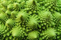 Grön textur som göras från broccoli Royaltyfria Bilder