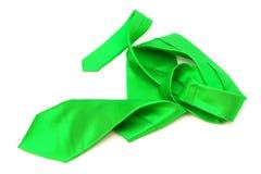 grön tie Royaltyfri Bild