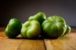 grön tomat arkivbilder
