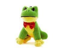 grön toy för groda Royaltyfri Foto