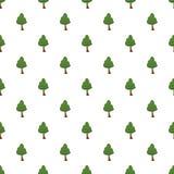 Grön trädmodell Royaltyfria Bilder