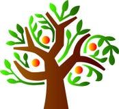 grön tree stock illustrationer