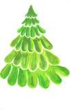 grön tree för jul Royaltyfria Foton