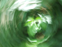 grön tromb Royaltyfri Bild