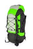 grön turist för ryggsäck Arkivfoton