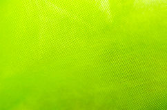 Grön tygtextur Arkivfoton