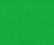 Grön tygtextur för bakgrund Royaltyfria Bilder