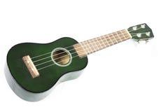 grön ukulele Royaltyfri Fotografi