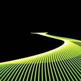 grön väg stock illustrationer
