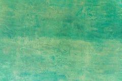 Grön väggbakgrund Arkivfoto