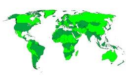 grön värld Arkivbild