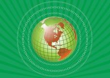grön värld vektor illustrationer