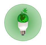 grön värld för begrepp Royaltyfria Foton