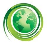 grön värld för begrepp Royaltyfri Bild