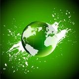 grön värld många begreppsekologibilder mer min portfölj vektor illustrationer