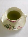 grön varm tea Royaltyfria Bilder