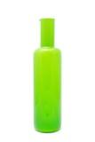 grön vase Arkivbild