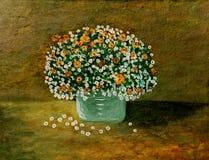 grön vase royaltyfria foton