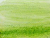 grön vattenfärg 3 Arkivfoto