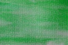 grön vattenfärg för bakgrund Grön abstrakt textur och bakgrund för design Arkivbild