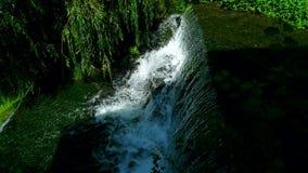 grön vattenfall Royaltyfri Bild