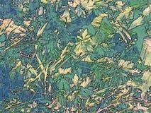 Grön vegetation för bakgrund Royaltyfria Foton