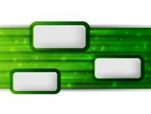 grön vektor för bakgrund Royaltyfria Bilder