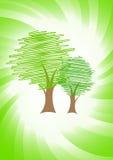 grön vektor för begrepp stock illustrationer
