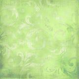 Grön victorianbakgrund med avstånd för text eller Royaltyfri Fotografi