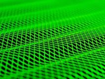 grön wave Arkivbild