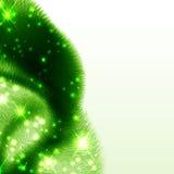 grön wave för abstrakt bakgrund Arkivfoto