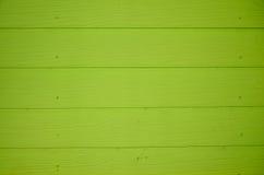 Grön wood bakgrund för plankaväggtextur Fotografering för Bildbyråer