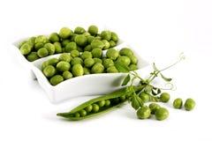 gröna ärtor Arkivfoton
