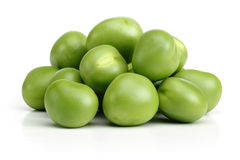 Gröna ärtor Arkivfoto