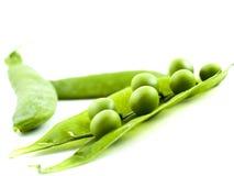 gröna ärtor Royaltyfria Bilder