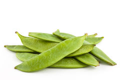 Gröna ärtor Pisum Sativum Arkivfoto
