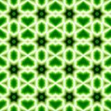 Gröna abstrakta sömlösa modellbakgrunder Royaltyfria Bilder