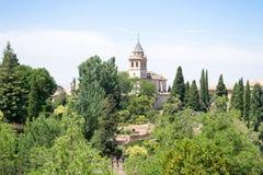 Gröna Alhambra Arkivbilder
