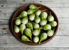Gröna aubergine Arkivfoton