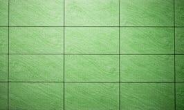 Gröna bakgrundstegelplattor Royaltyfri Foto